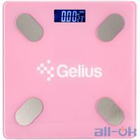 Ваги підлогові електронні Gelius Floor Scales Zero Fat GP-BS001 Pink