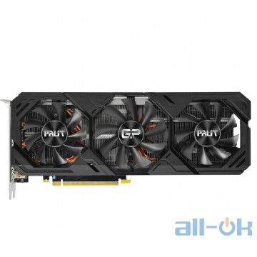 Видеокарта Palit GeForce RTX 2070 SUPER GP OC (NE6207ST19P2-180T)
