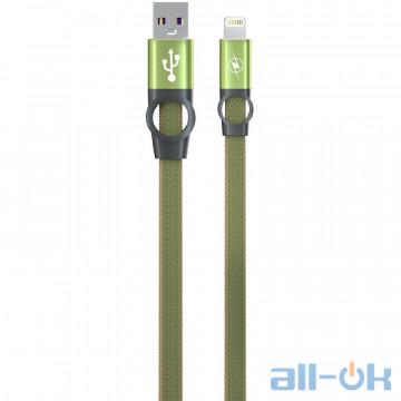 Кабель  Gelius Pro Flexible 2 GP-UC07i iPhone X Pine Green