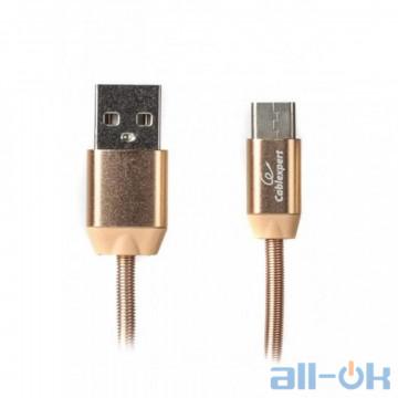 Кабель USB Type-C Cablexpert USB2.0 AM/CM Gold 1m (CCPB-C-USB-08G)