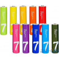 Батарейка ZMI AAA bat Alkaline 10шт ZI7 Rainbow (NQD4001RT)