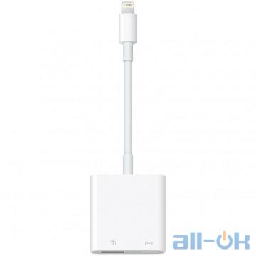 Адаптер USB-C Apple Lightning to USB 3 Camera Adapter (MK0W2)