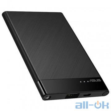 Внешний аккумулятор (Power Bank) ASUS ZenPower Slim ABTU015 4000mAh Black (90AC02C0-BBT005)