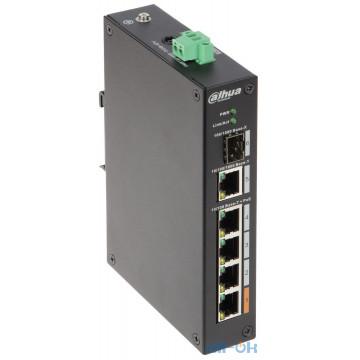 Коммутатор управляемый уровня 2 Dahua Technology PFS3106-4ET-60 UA UCRF