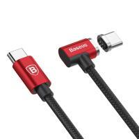 Кабель Baseus Magnet Type-C Cable For Type-C 1.5M Red/Black (CATBL-91)