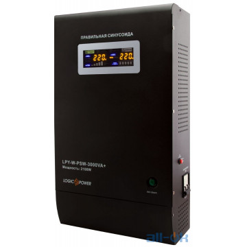 Линейно-интерактивный ИБП LogicPower LPY-W-PSW-3000VA+ (4147) UA UCRF
