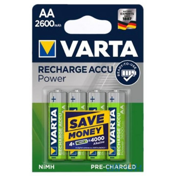 Аккумулятор Varta Rechargeable Accu Endless AA/HR06 Ni-MH 2600 mAh BL 4шт