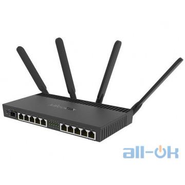 Беспроводной маршрутизатор (роутер) Mikrotik RB4011iGS+5HacQ2HnD-IN UA UCRF
