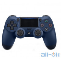 Геймпад Sony DualShock 4 V2 Midnight Blue (9874768)