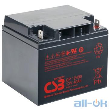 Аккумулятор для ИБП CSB Battery GP12400 UA UCRF
