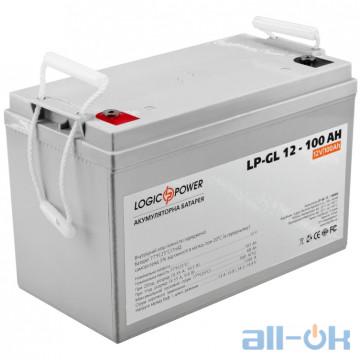 Аккумулятор для ИБП LogicPower LPM-GL 12 - 100 AH (3871) UA UCRF