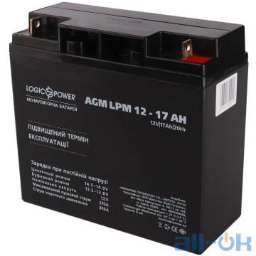 Аккумулятор для ИБП LogicPower LPM 12 - 17 AH (4162) UA UCRF