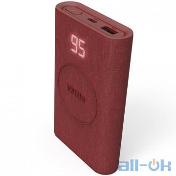 Внешний аккумулятор (Power Bank) iOttie iON Wireless Go Power Bank 10000 mAh Red (CHWRIO106RD)