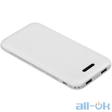 Внешний аккумулятор (Power Bank) Momax iPower GO Slim Battery 10000 mAh White (IP56W)