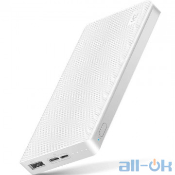 Внешний аккумулятор (Power Bank) ZMi Power Bank 10000 mAh Type-C White (QB810W)