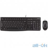 Комплект (клавиатура + мышь) Logitech MK120 Desktop (920-002561) UA UCRF