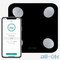 Ваги підлогові електронні Yunmai Balance Smart Scale Black (M1690-BK)