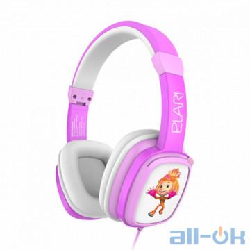 Наушники с микрофоном ELARI FixiTone Pink/White (FT-1PNK)