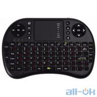 Бездротова клавіатура Rii mini i8 UKB-500 з тачпадом RUS Black