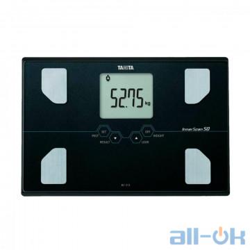 Весы напольные электронные Tanita BC-313 Black