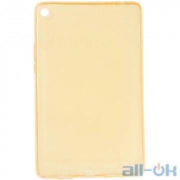 """TPU чехол Galeo для Xiaomi Mi Pad 4 Plus 10.1"""" Gold"""
