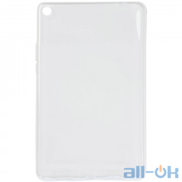 "TPU чехол Galeo для Xiaomi Mi Pad 4 Plus 10.1"" Transparent"