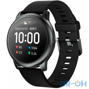 Смарт-часы Xiaomi Haylou Smart Watch Solar LS05 Black