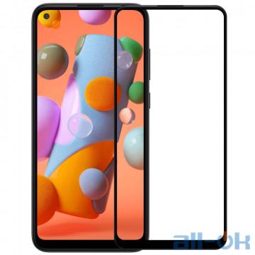 Защитное стекло 3D для Samsung M115 (M11) / A115 (A11) Black