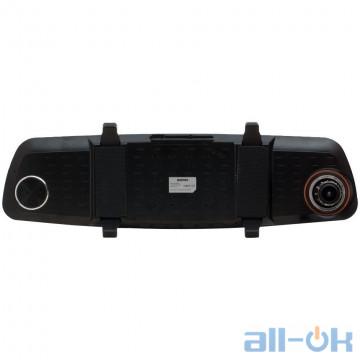 Автомобильный видеорегистратор-зеркало REMAX CX-03 Black Plus Blue