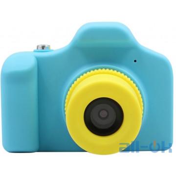 Детская цифровая фото-видео камера Kronos Toys UL-1201 1080P 5MP Blue
