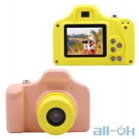 Дитяча цифрова фото-відео камера Kronos Toys UL-1201 1080P 5MP Pink