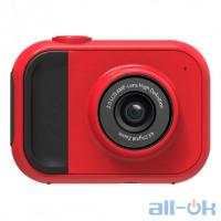 "Дитяча цифрова фото-відео камера 2 ""LCD UL-1 219 720P, 5MP Red"