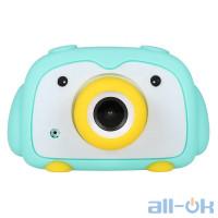 "Дитяча цифрова фото-відео камера DUO Camera 2 ""LCD UL-2033 1080P, 12MP Blue"