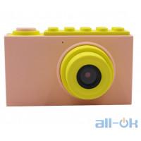 "Дитяча цифрова фото-відео камера waterproof case 2 ""LCD UL-2018 1080P, 8MP Pink"