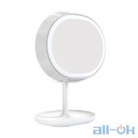 Зеркало JOYROOM Multi-functional LED Beauty Series Smart Light Makeup Mirror Lamp JR-CY266 White
