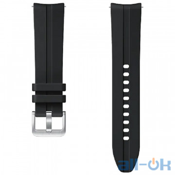Ремешок для Samsung Galaxy Watch 3 R850 20mm Ridge Sport Band ET-SFR85SBEGRU Black