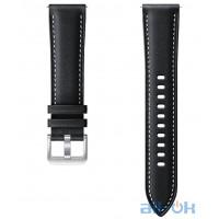 Ремешок для Samsung Galaxy Watch 3 R850 Stitch Leather Band ET-SLR85SBEGRU Black