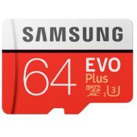 Карта памяти Samsung 64 GB microSDXC Class 10 UHS-I EVO Plus + SD Adapter MB-MC64HA