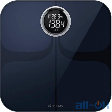 Весы напольные электронные Yunmai Premium Smart Scale Black (M1301-BK)