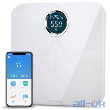 Весы напольные электронные Yunmai Premium Smart Scale White (M1301-WH)