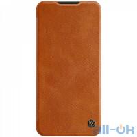 Кожаный чехол-книжка Nillkin Qin Leather Series для Xiaomi Redmi Note 8 Brown