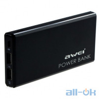Внешний аккумулятор (Power Bank) Awei P92K 10000mAh Black
