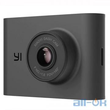 Автомобильный видеорегистратор YI Dash Cam Nightscape Black (YI-89036)