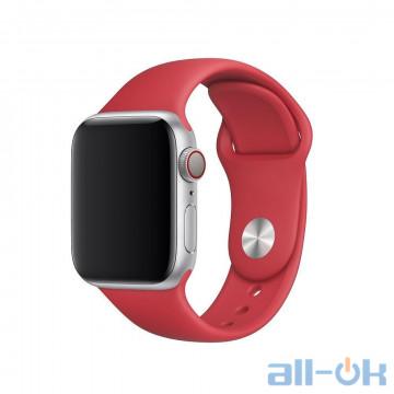 Ремешок для Apple WATCH 38mm/40mm Red PRODUCT Sport Band S/M&M/L MU9M2