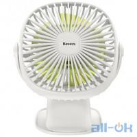 Вентилятор портативний BASEUS Box Clamping Fan 360 White (CXFHD-02)