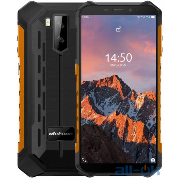 Ulefone Armor X5 Pro 4/64GB Orange (6937748733843)  UA UCRF