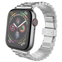 Ремешок для  Apple Watch 1/2/3/4 HOCO Shining Steel Watch Strap WB08 |38/40mm| silver
