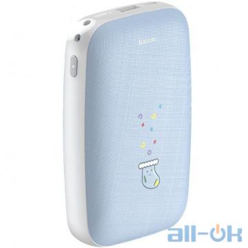 Внешний аккумулятор (Power Bank) BASEUS Mini Q Hand Warmer 10000mAh Blue PPALL-CXQ