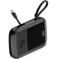 Внешний аккумулятор (Power Bank) Baseus Qpow Digital Display 3A Power Bank 10000mAh (Black)