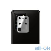 Гидрогелевая противоударная глянцевая пленка для камеры Samsung Galaxy S20 Ultra